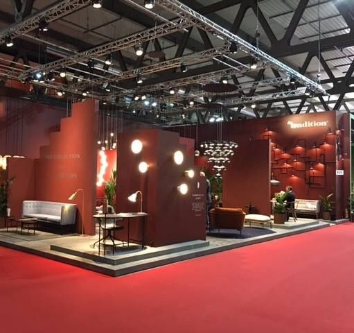 Our beautiful stand at Salone Del Mobile in Milan!