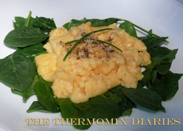 Just for fun! Thermomix Scrambled Eggs... a #sousvide #recipe