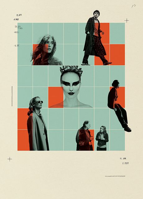 Opener illustration for Sight & Sound (magazine of British Film Institute) by Cristiana Couceiro