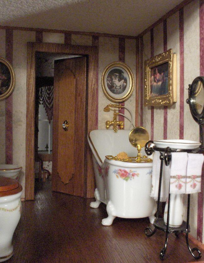 Coolest Bathroom Ever 407 best miniatures - bathroom images on pinterest | dollhouse