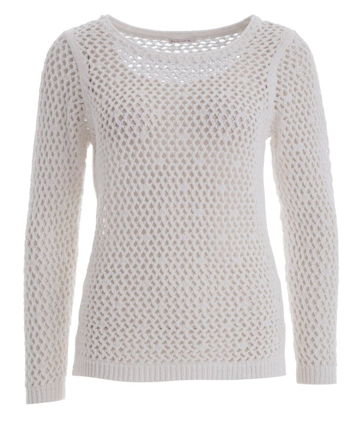 Witte trui pauline b online bij Deleye.be & BeKult