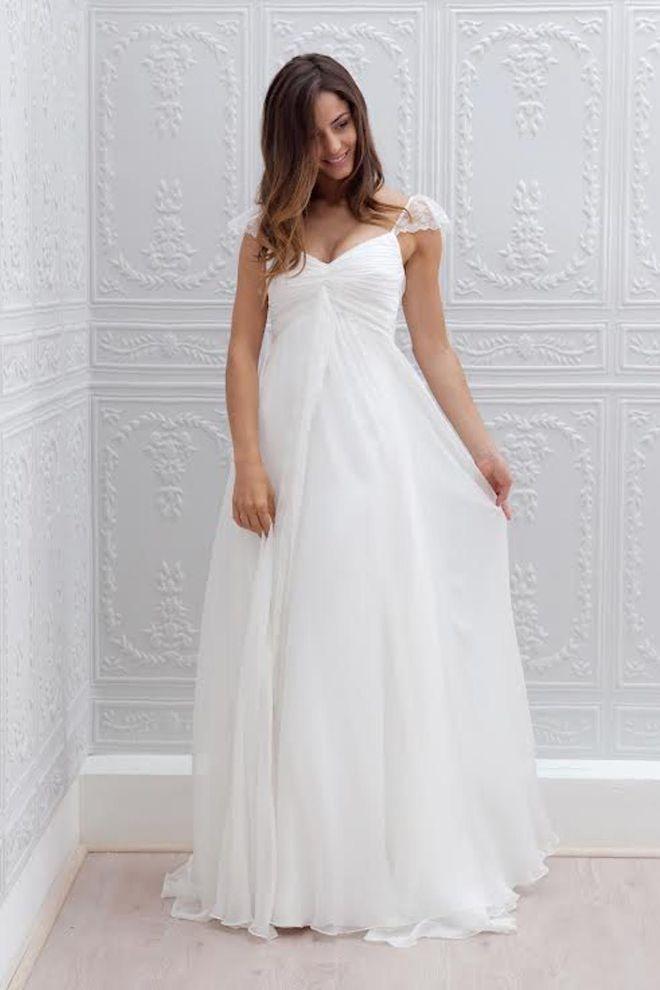 """Robe de mariée grande taille Marie Laporte """"Joy"""""""