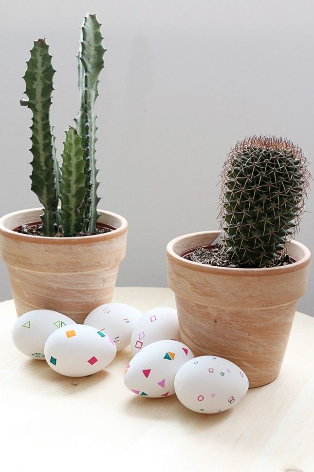 Have some fun with Geometric Patterns #eggart #DIY #easter