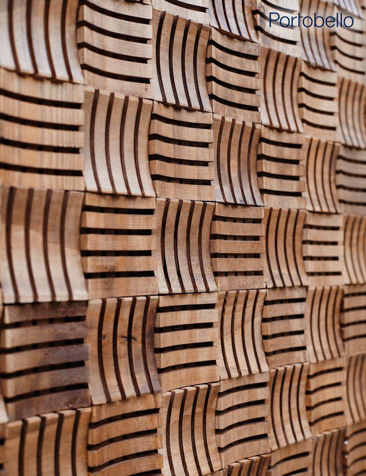 Aplicação autoadesiva, desempenho acústico e beleza são algumas das características do Mos Arco Acústico, da linha Geppetto. Solução ideal para decoração de interiores, esta peça expressa a essência do trabalho artesanal com um mood contemporâneo. Perfeito! ♥ #portobello_sa #portobellolovers #Geppetto #MosArcoAcustico #wood #madeira #decor #decoraçao #homedecor #façavocemesmo #design #mosaico