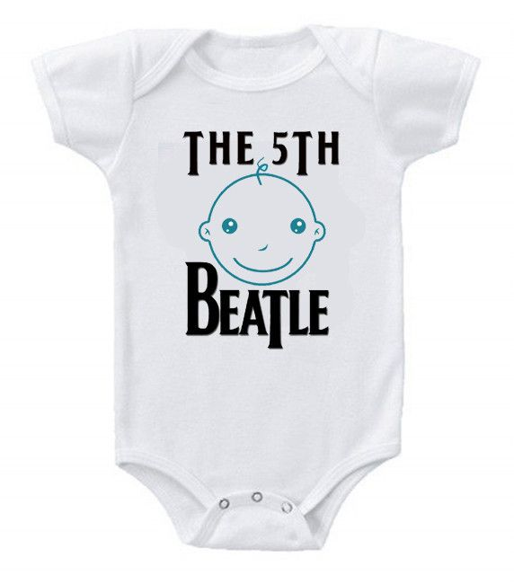 Funny Humor Custom Baby Onesie The Beatles The 5th Beatle #babyshower #babybump #babygirl #baby #babygirls #mom #gerber #fashion #fashionista #clothing #clothes #kidsfashion #kids #babies #ootd #fasionblog #newarrivals #newborn #sale #onesie #infants #infantclothes #style #shopping #cute #babies #babyclothes #clothing