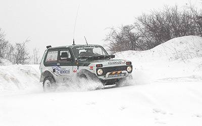 Russian car Niva Lada