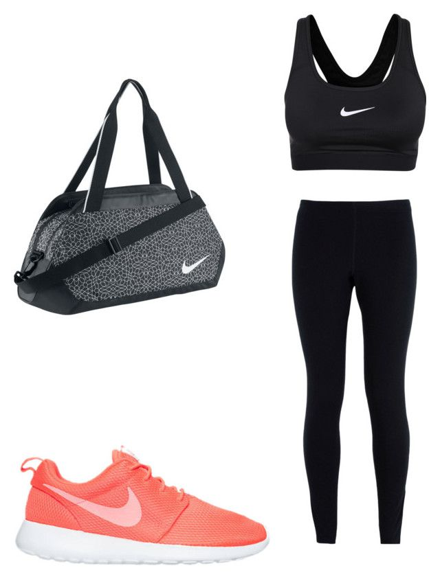 """Untitled #17"" by hongjina on Polyvore featuring NIKE"