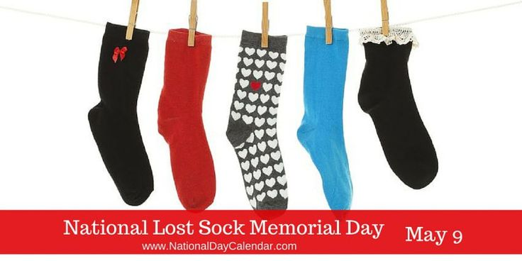 """There should be a song...""""Where do all the missing socks go"""" #LostSockMemorialDay"""