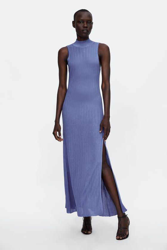 acda485b Knit high neck dress   ~*~ My Wishlist ~*~   Dresses, Dress attire ...
