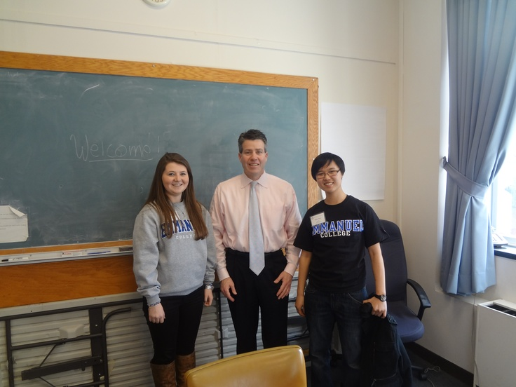 Students Met With Representative Walter F. Timilty To Thank Him For His  Hard Work And