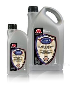Millers Oils Classic Sport 20W50