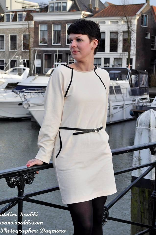 Look 10 Fashion Designer: Iwakki  Model: Pauline Photographer: Dagmara Nowak Garment Type: Knitted dress atelier Iwakki © www.iwakki.com