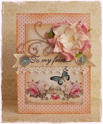 To scrap or not to scrap, that's the question.: Scrapbook Ideas, Beautiful Cards, Cards Ideas, Handmade Cards, My Friends, Graduation Gifts, Cards Tags, Paper Crafts, Chic Cards