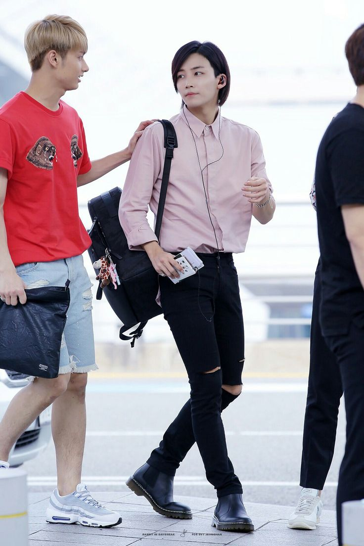 Pin by hoshiholiday on SVT Jeonghan, Kpop fashion men