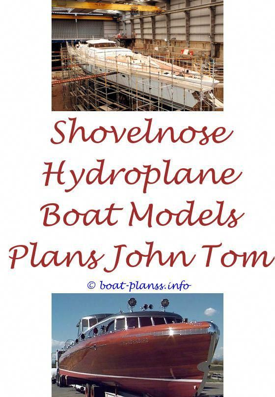 Free Model Speed Boat Building Plans Shallow Water Aluminum Boat