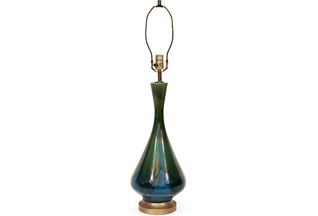 Midcentury Lamp Base on OneKingsLane.com