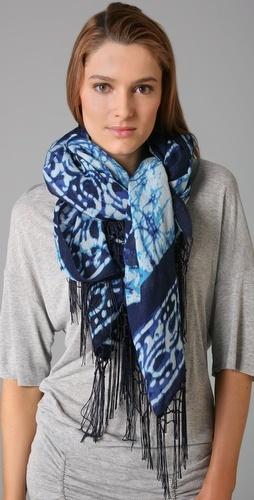 Batik scarf.