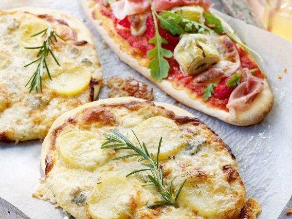 Pizza bianca met 5 kazen - Libelle Lekker!