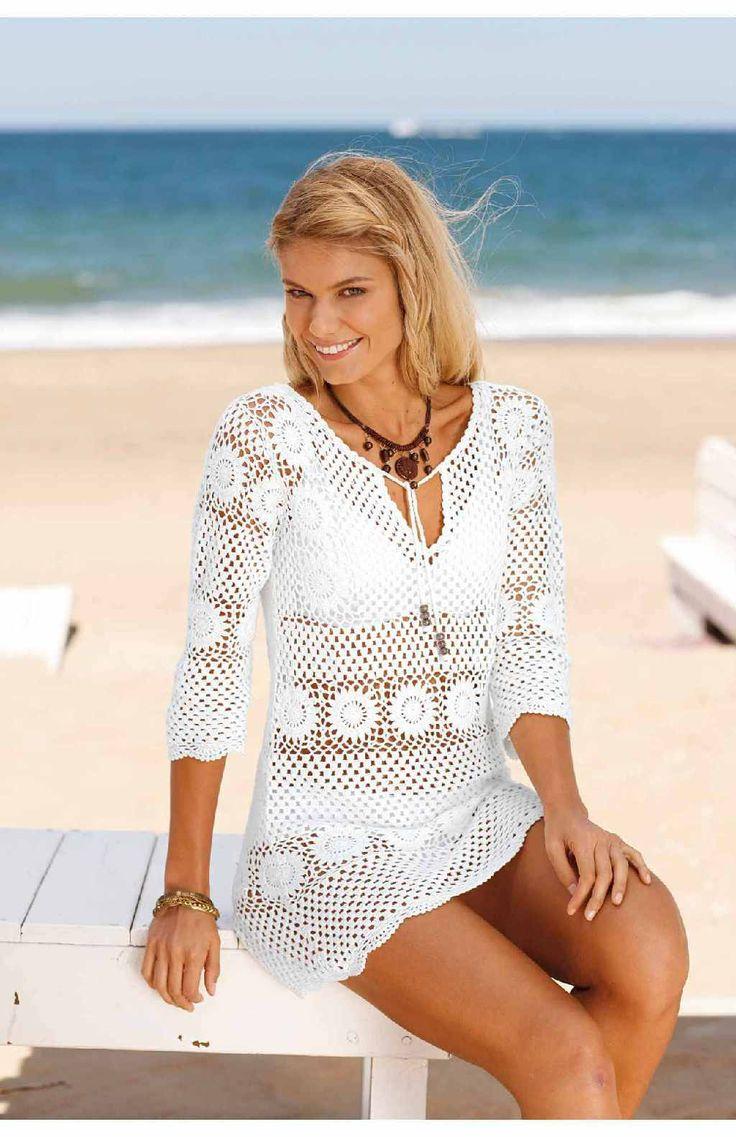 Crinochet: White Beach Dress