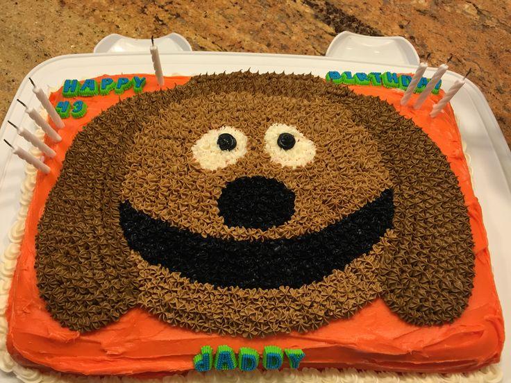 Rowlf birthday cake #Muppets