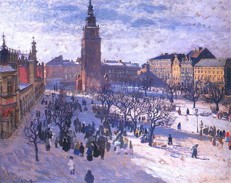 Rynek krakowski | Józef Mehoffer
