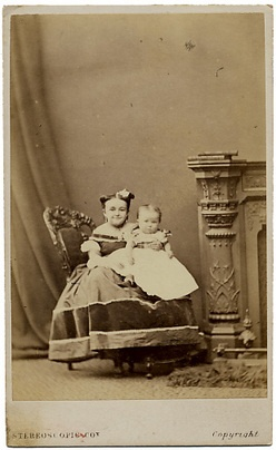 Lavinia Warren Stratton With One Of The Many Babies