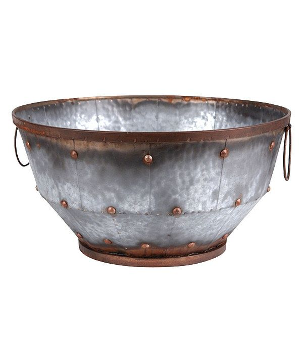This 18'' Round Bowl by Wilco is perfect! #zulilyfinds