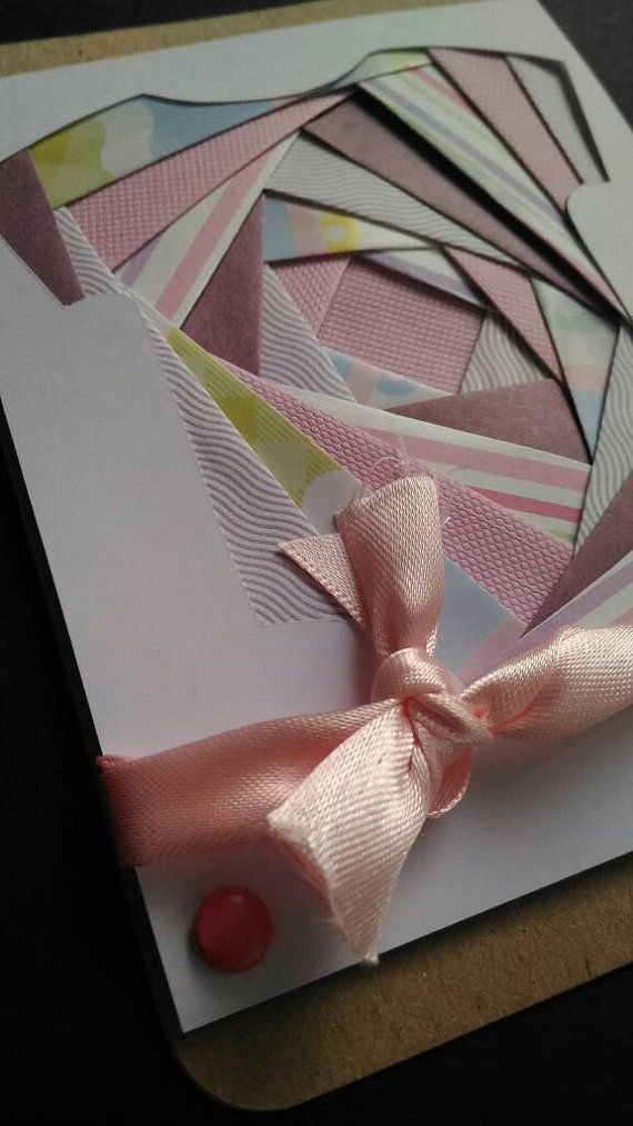 BABY SUIT: cards to say congratulations and share the excitement of a baby entering the world. These cute iris folding cards are wonderful ways to