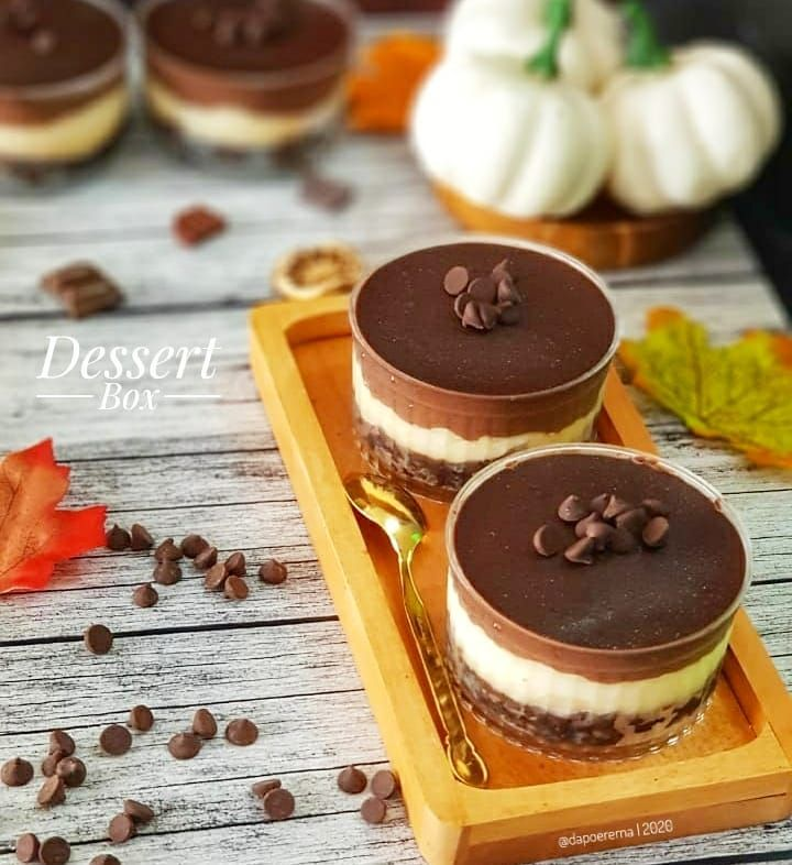 Resep Dessert Box C 2020 Brilio Net Instagram Mayfitkitchen Instagram Komeskitchen Makanan Resep Biskuit Makanan Penutup Mini