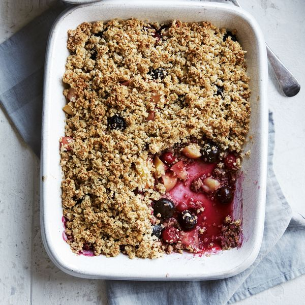 Berry And Apple Crumble Recipe Low Calorie Desserts Low