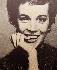 Julie Andrews: for Mary Popins and The Sound Of Music