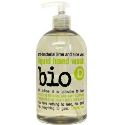 Bio-D Οικολογικό Βιοδιασπώμενο Αντιβακτηριδιακό Υγρό Σαπούνι Χεριών Κίτρο και Αλόη Βέρα 500ML - Sunnyside