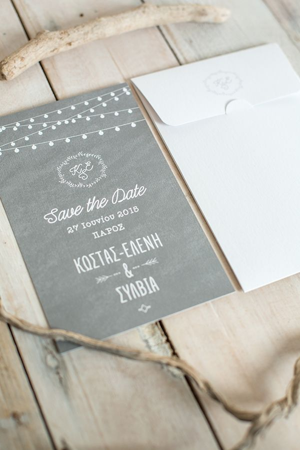 Save the dates by Atelier Invitations 118