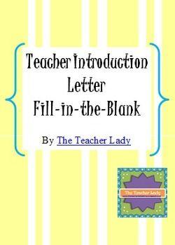 The 25+ best Teacher introduction letter ideas on Pinterest ...