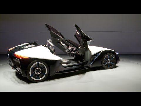 Design O carro elétrico do futuro Modelo conceitual da japonesa Nissan tem aerodinâmica de avião e motor nas rodas. A Nissan, porém, se esforçou para criar um modelo conceitual inspirado em um planador.