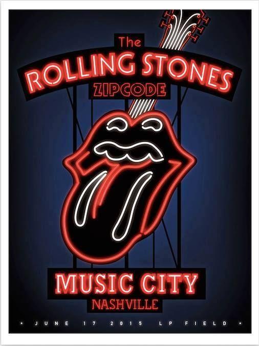 Rolling Stones Nashville June 17, 2015