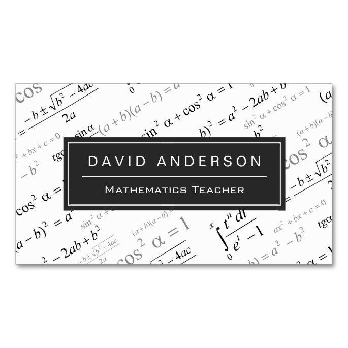 2148 best Teacher Business Cards images on Pinterest