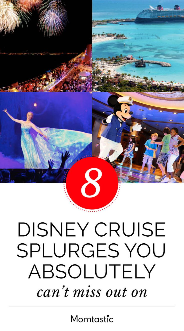 Sure, there are Frozen adventures, pirate parties, and all-you-can-eat buffets, but there are also some insanely luxurious amenities and experiences for the grownups, too—stuff that Disney Cruise Line takes to another whole level. Go ahead, check out these awesome splurges, and maybe you'll be as tempted as I am to book your next family vacation on a Disney Cruise.