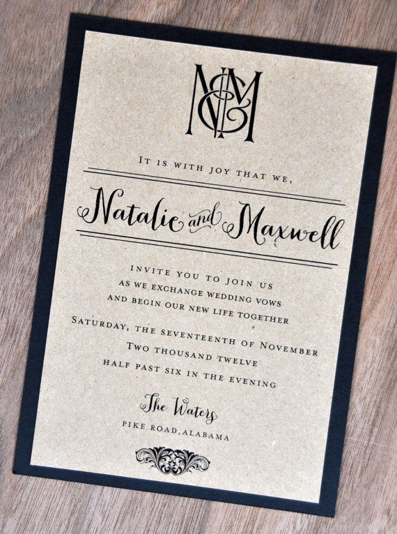 20 best images about Invitations printable on Pinterest Starfish - best of formal invitation salutations