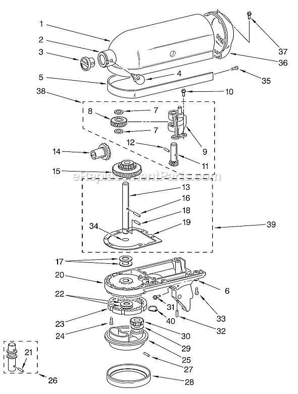 best kitchenaid artisan stand mixer repair manual image collection