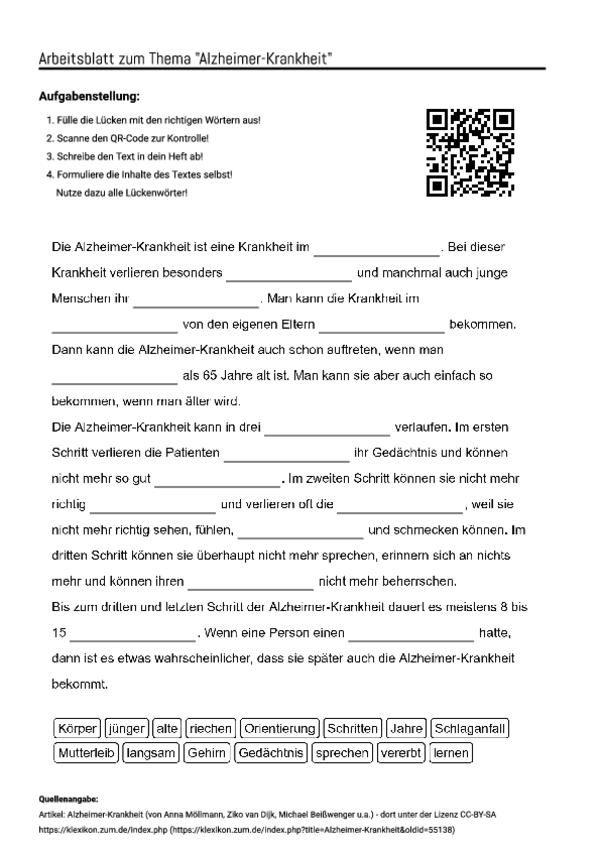 Erfreut Gehirn Arbeitsblatt High School Zeitgenössisch - Mathe ...