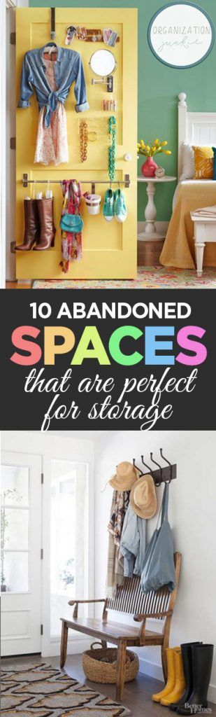 10 Abandoned Spaces That Are Perfect for Storage| Storage, Storage Hacks, Storage Tips for the Home, Organization Tips and Tricks, Quick Ways to Organize Your Home, How to Organize Your Home Fast, Fast Ways to Organize Your Home