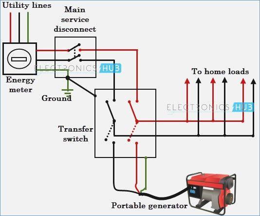 Diagram Standby Generator Transfer Switch Wiring Diagram