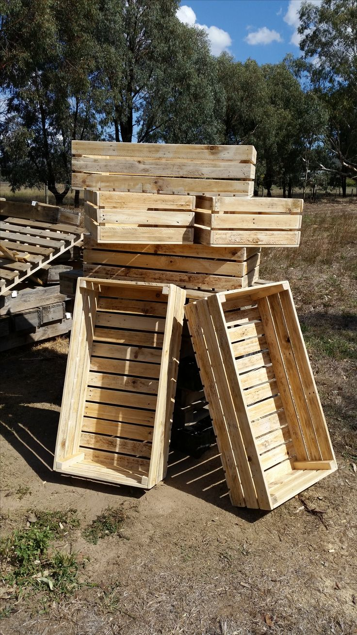 60 best recycling pallet wood images on pinterest pallet - Palette recyclee ...