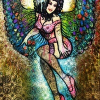 Sarah Hickey - Gallery - Goddess- Candy Angel: Mistress of the Night