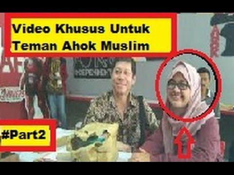 """Video Khusus Teman AHOK yg Muslim  """"Ustadz Khalid Basalamah""""  #Part2"""