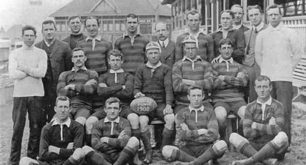 South Sydney Rabbitohs, 1908. | #SouthSydneyRabbitohs #history