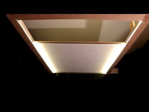 Motorized skylight shade bottom up window shade pergola for Remote control skylights