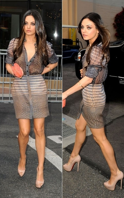 Mila in Givenchy