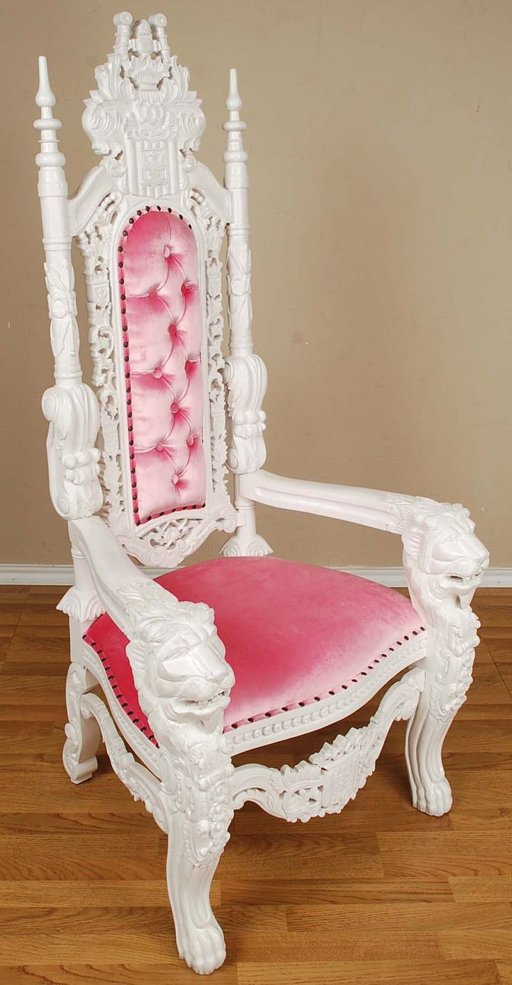Kids chair princess png - White Throne Chair